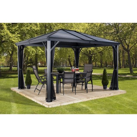 Sojag Ventura 10x12 Gazebo Galvanised Steel Roof