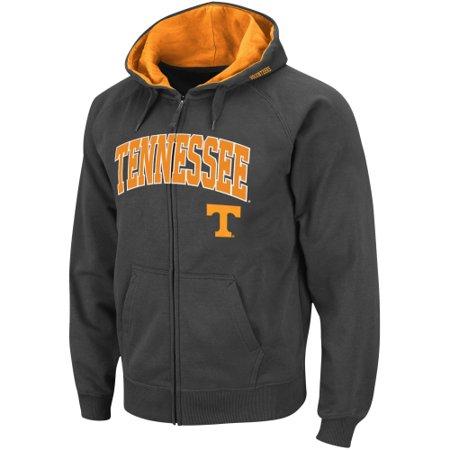 Tennessee Volunteers Stadium Athletic Arch & Logo Full Zip Hoodie - Charcoal ()