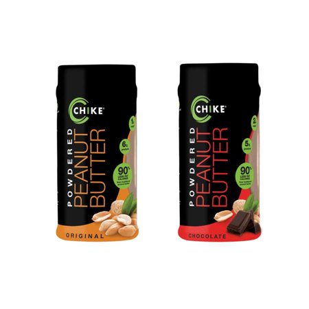 Chike Nutrition Powdered Peanut Butter - Available in 2 Flavors! - Halloween Peanut Butter Taffy Nutrition