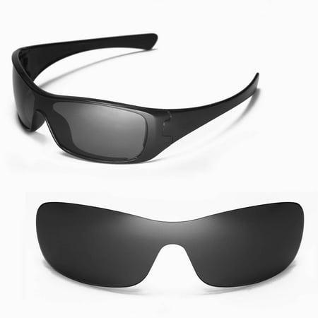Walleva - Walleva Black Polarized Replacement Lenses for Oakley Antix  Sunglasses - Walmart.com cefb52b98a03