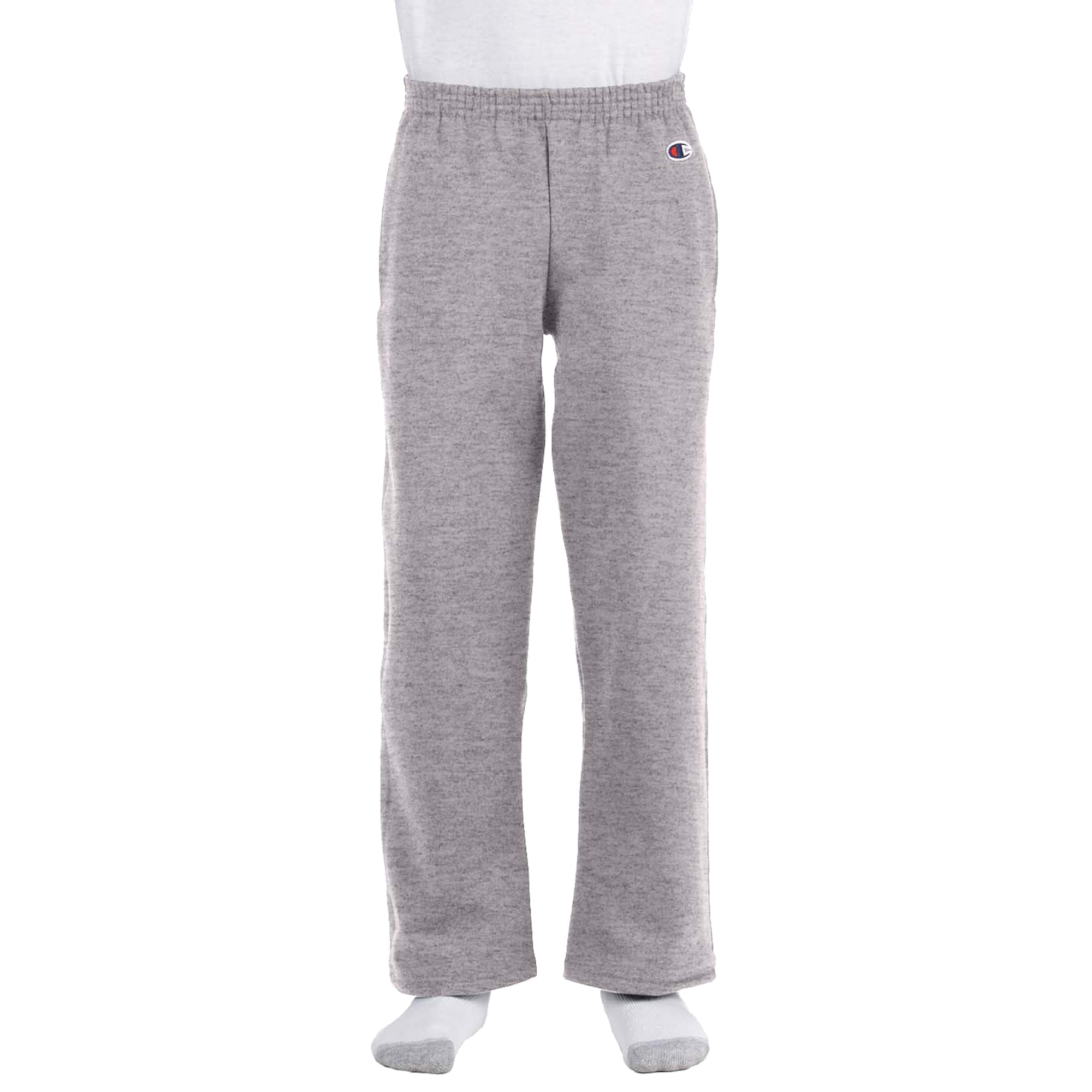 Champion Youth Double Dry Action Fleece Open Bottom Pant Scarlet