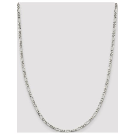 925 Sterling Silver 4mm Figaro Chain - image 4 of 5