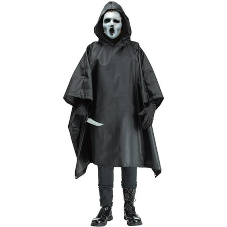 Adult Scream TV Costume - Bleeding Scream Costume