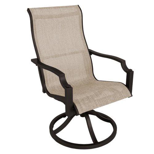 Red Barrel Studio Konevsky Swivel Patio Dining Chair