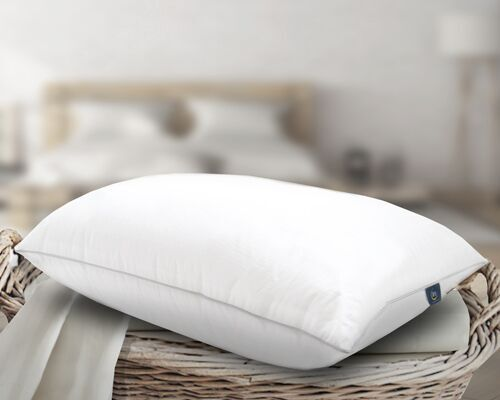 Sertapedic Elite Comfort Down Alternative Pillow, 100% Cotton Shell by Springs Global US, Inc.