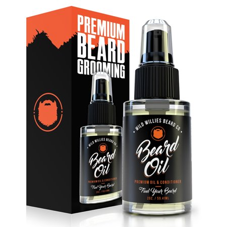 Wild Willies Beard Oil, Premium Beard Oil and Conditioner, 2