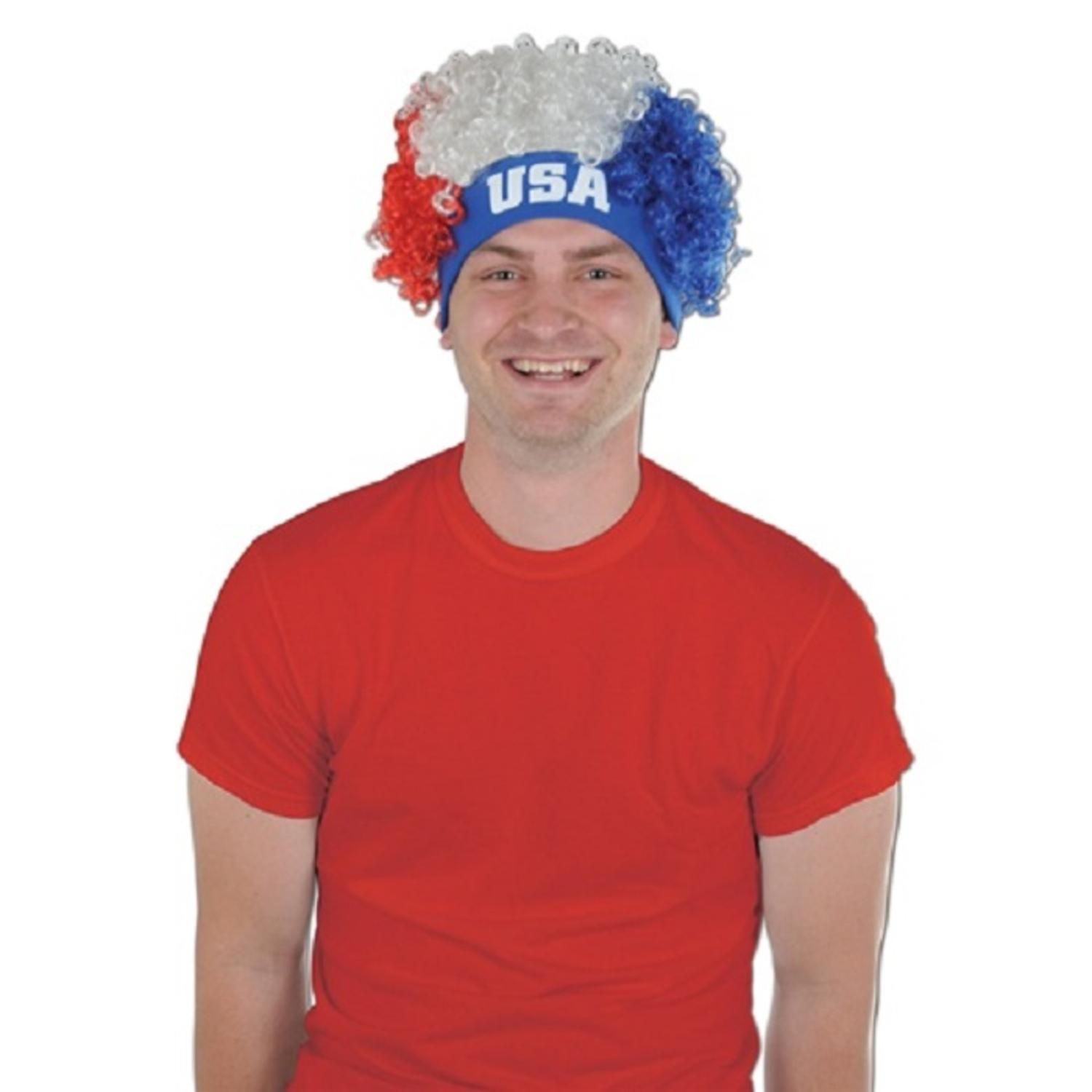 """Club Pack of 12 Red, White, and Blue Patriotic """"USA"""" Four..."""