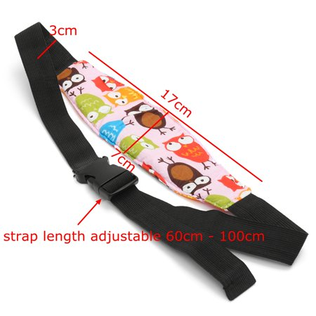 Safety Seat Stroller Baby Kids Sleep Nap Aid Head Fasten Support Holder  - image 2 of 4