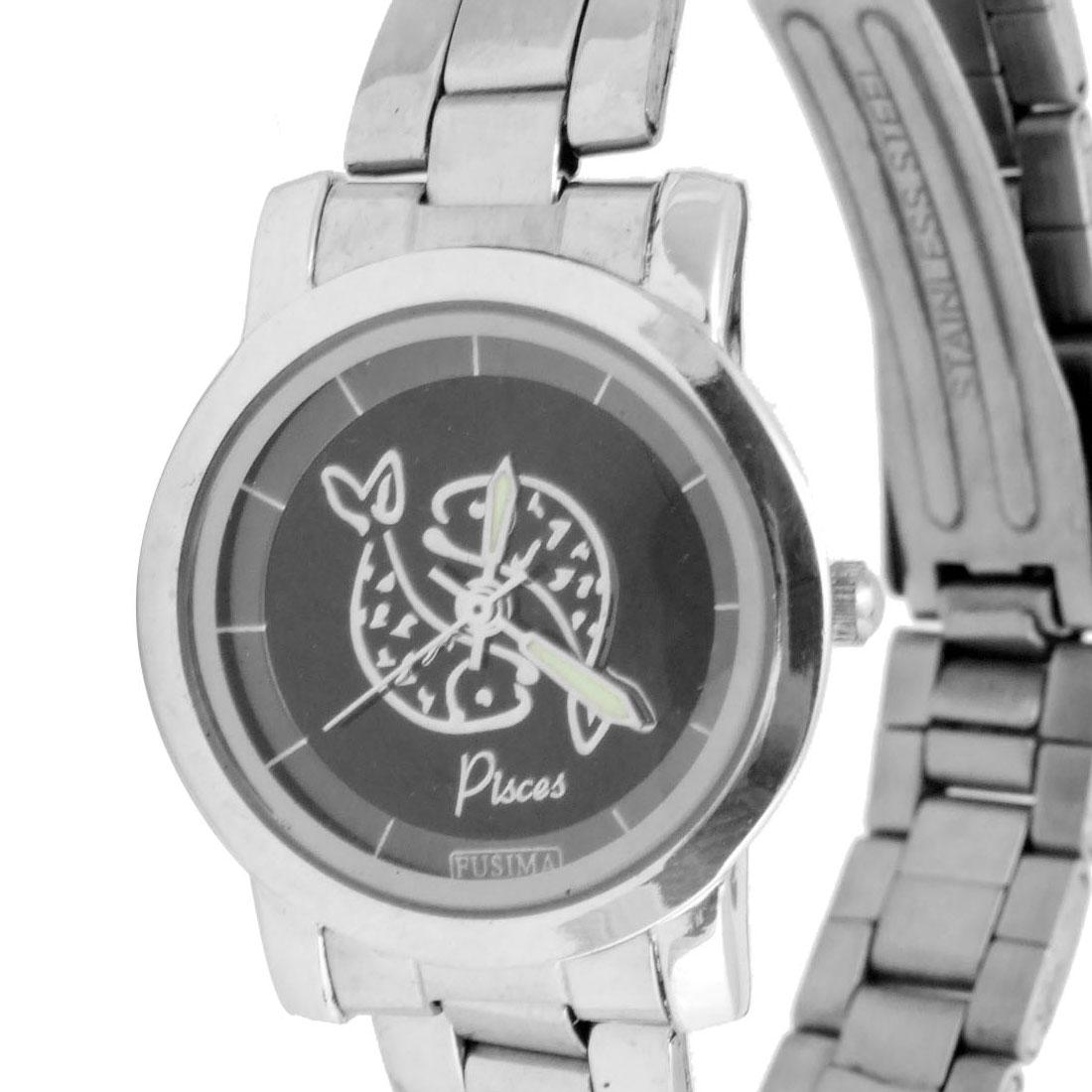 Fashion Jewelry Stainless Steel Quartz Watch - image 1 of 2