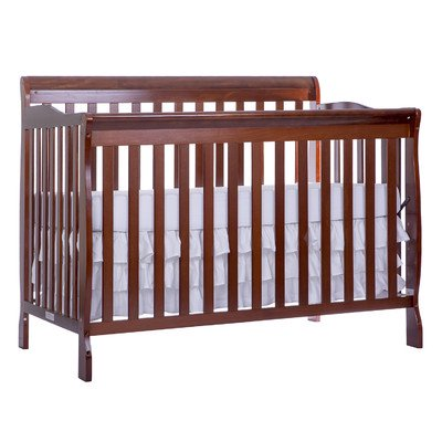 Dream On Me Ashton 5-in-1 Convertible Crib Espresso
