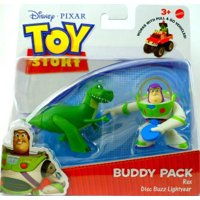by DISNEY PIXAR, BUDDY PACK, REX AND DISC BUZZ LIGHTYEAR, BUDDY PACK INCLUDES REX AND DISC BUZZ LIGHTYEAR By Toy Story