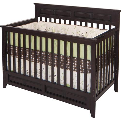 Child Craft Logan Lifetime 2-in-1 Convertible Fixed-Side Crib, Jamocha