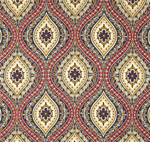 Jordan Manufacturing, Outdoor Spun Polyester Fabric by the Yard, Jasmina Lakewood