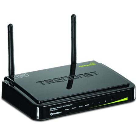 Trendnet Tew 731Br Wireless Router   Ieee 802 11N   2 X Antenna   Ism Band   300 Mbps Wireless Speed   4 X Network Port   1 X Broadband Port Desktop