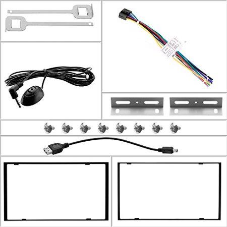 Refurbished Boss BV9362BI 6.2in DDIN Motorized Touchscreen Bluetooth USB/SD