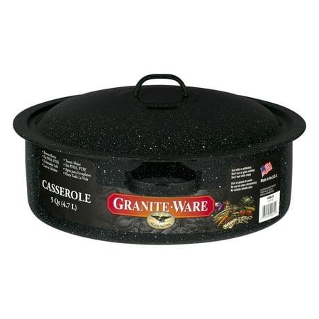 Japanese Porcelain Ware (Granite Ware Granite-Ware Casserole Pan, 1.0 CT )