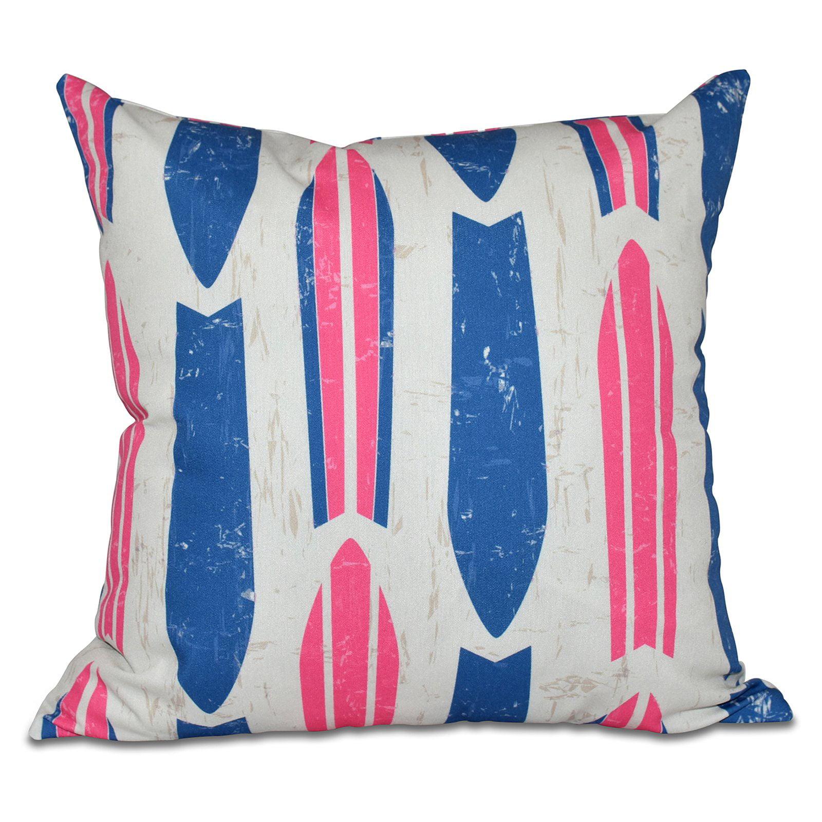 E by Design Hang Ten Dean Decorative Pillow