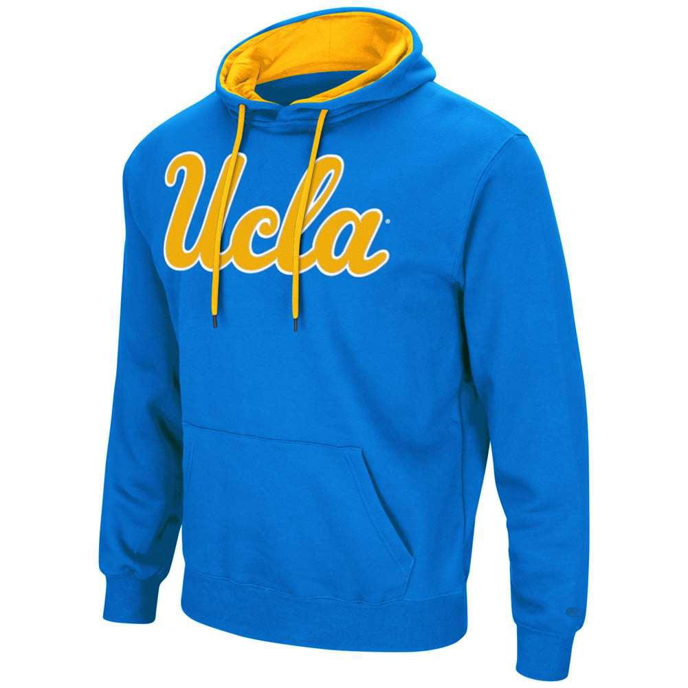 UCLA Bruins Colosseum Zone III Hoodie - Blue - Logo
