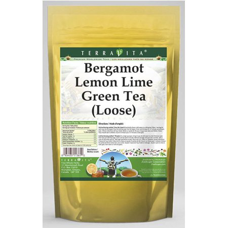 Bergamot Lemon Lime Green Tea (Loose) (8 oz, ZIN: 536367)