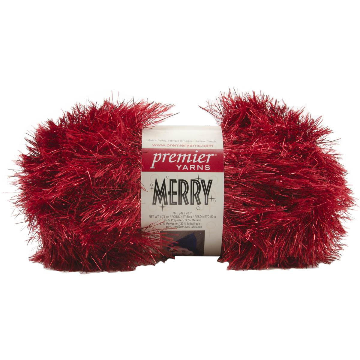 Merry Yarn-Red Globes