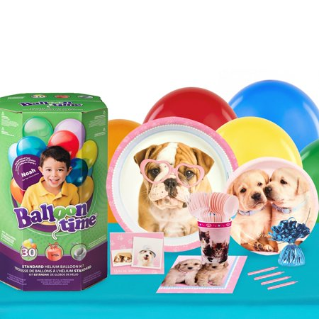 Rachael Hale Glamour Dogs 16 Guest Party Pack and Helium Kit - Helium Container