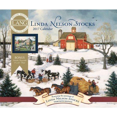 Linda Nelson Stocks Special Edition Wall Calendar