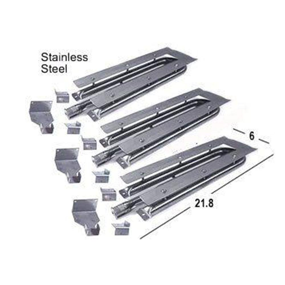 BBQ Grill Viking Burner Stainless Steel 3 Pack 15481-3 - Default