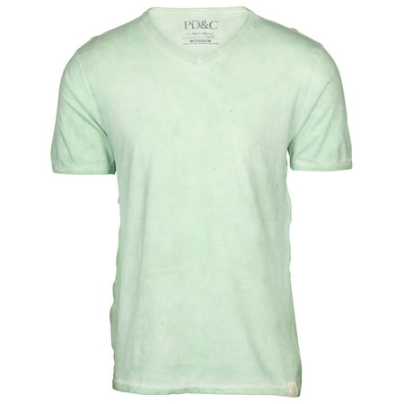 PD&C Men's Vintage Wash V-Neck T-Shirt