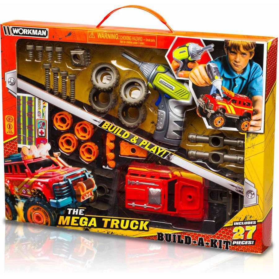 "Workman ""Build Your Own"" Off Road Mega Truck Kit"