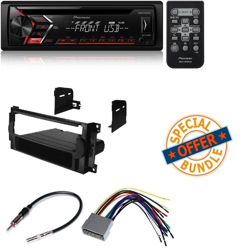 Single 1 Din Cd Mp3 Player For Android Mixtrax Usb Aux W Car Boston Acoustics Jeep Patriot Wiring Diagram Stereo Receiver Dash Install Mounting Kit Wire Harness Radio Antenna Adapter Chrysler Dodge 2004 2008