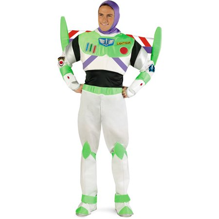 Toy Story Prestige Buzz Lightyear Adult Halloween Costume](Mens Buzz Lightyear Costume)