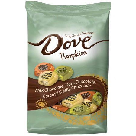 DOVE PROMISES Variety Mix Harvest Halloween Chocolate Candy Pumpkins 24-Ounce Bag](Dave Halloween)
