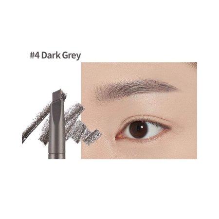 ETUDE HOUSE Drawing Eye Brow Pencil #4 Dark Gray, [Pack of 2]| Long Lasting  and Soft Textured | Natural Daily Look Eyebrow Makeup. | Walmart Canada