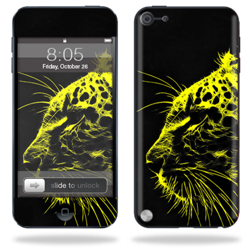 Mightyskins Protective Skin Decal Cover for Apple iPod Touch 5G (5th generation) MP3 Player wrap sticker skins Speedy