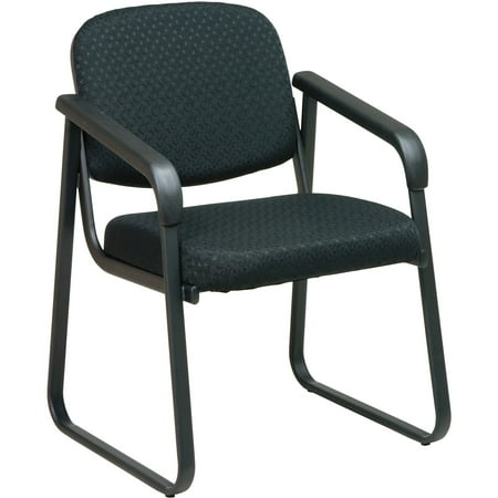 Office Star, OSPV441080, V4410 Deluxe Sled Base Arm Chair, 1 Each