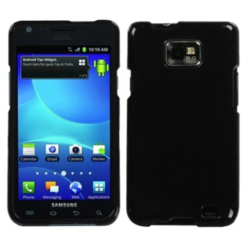 Insten Solid Black Phone Case for SAMSUNG: I777 (Galaxy S II)