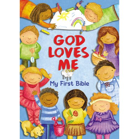 God Loves Me My 1st Bible (Board Book)
