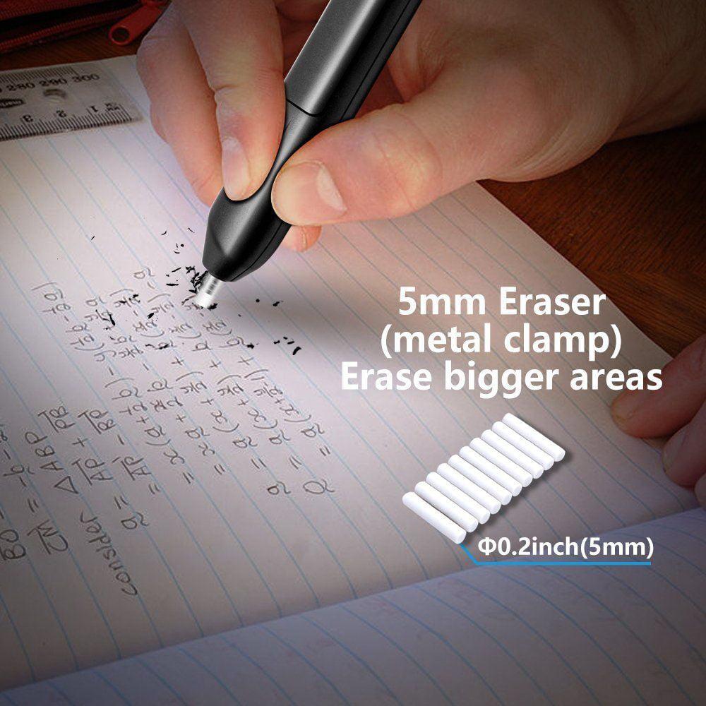 Electric Eraser Kit,ANKO Portable Electric Eraser with Manual Pencil Sharpener