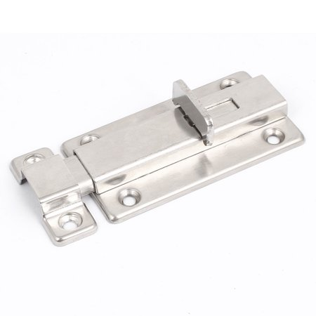 Interior Door Sliding Lock Latch Metal Barrel Bolt Set 76mm Length