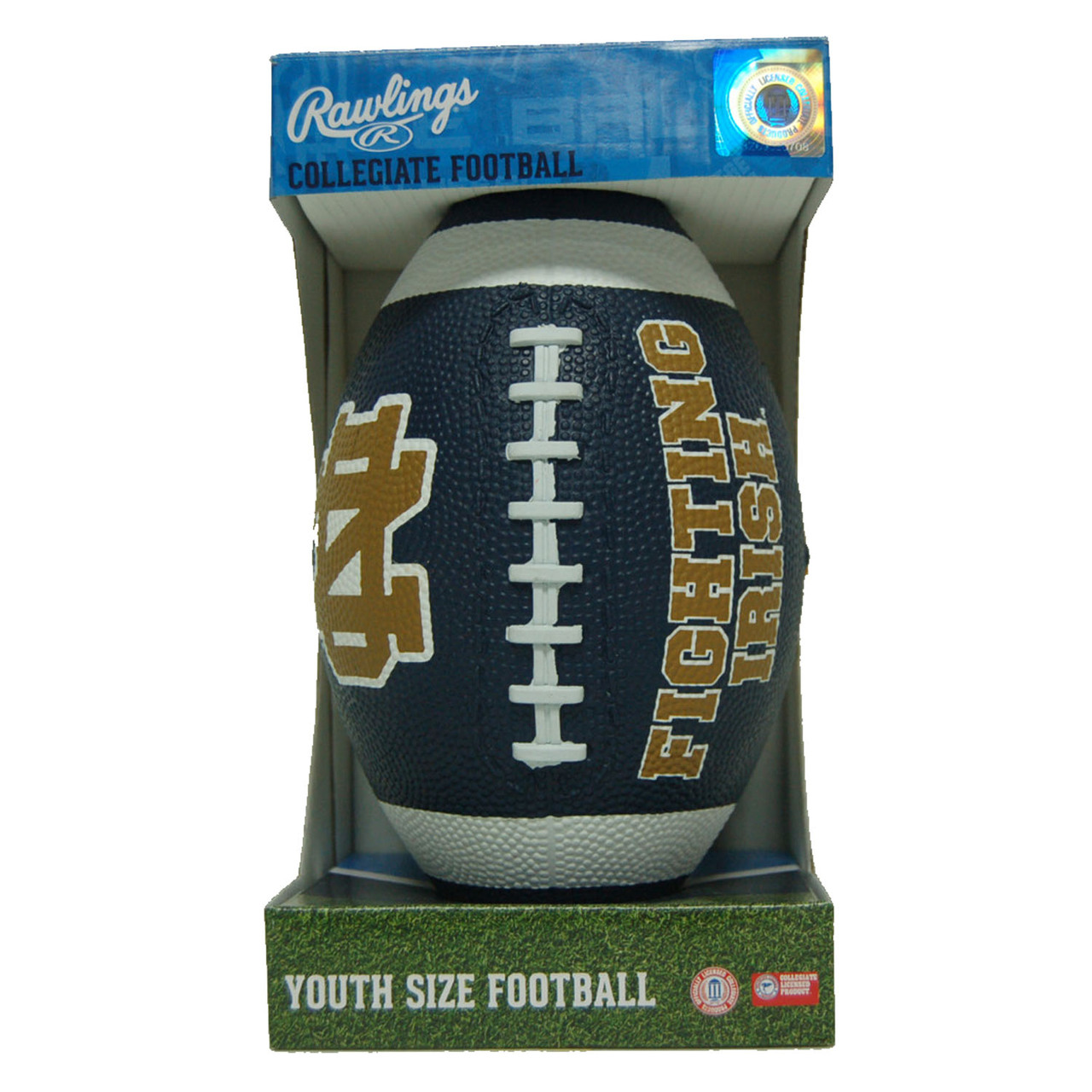 Notre Dame Fighting Irish Official NCAA  Hail Mary Youth Size Football by Rawlings