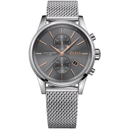 Men's Hugo Boss Jet Steel Mesh Strap Chronograph Watch 1513440 ()