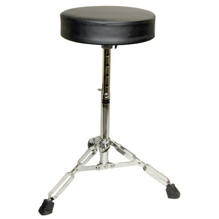 Double Braced Tripod Drum Throne - GP Percussion D250 Double Braced Drummer's Throne