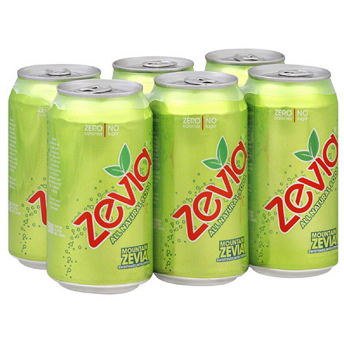 Zevia Mountain Zevia Soda, 72FO (Pack of 4)