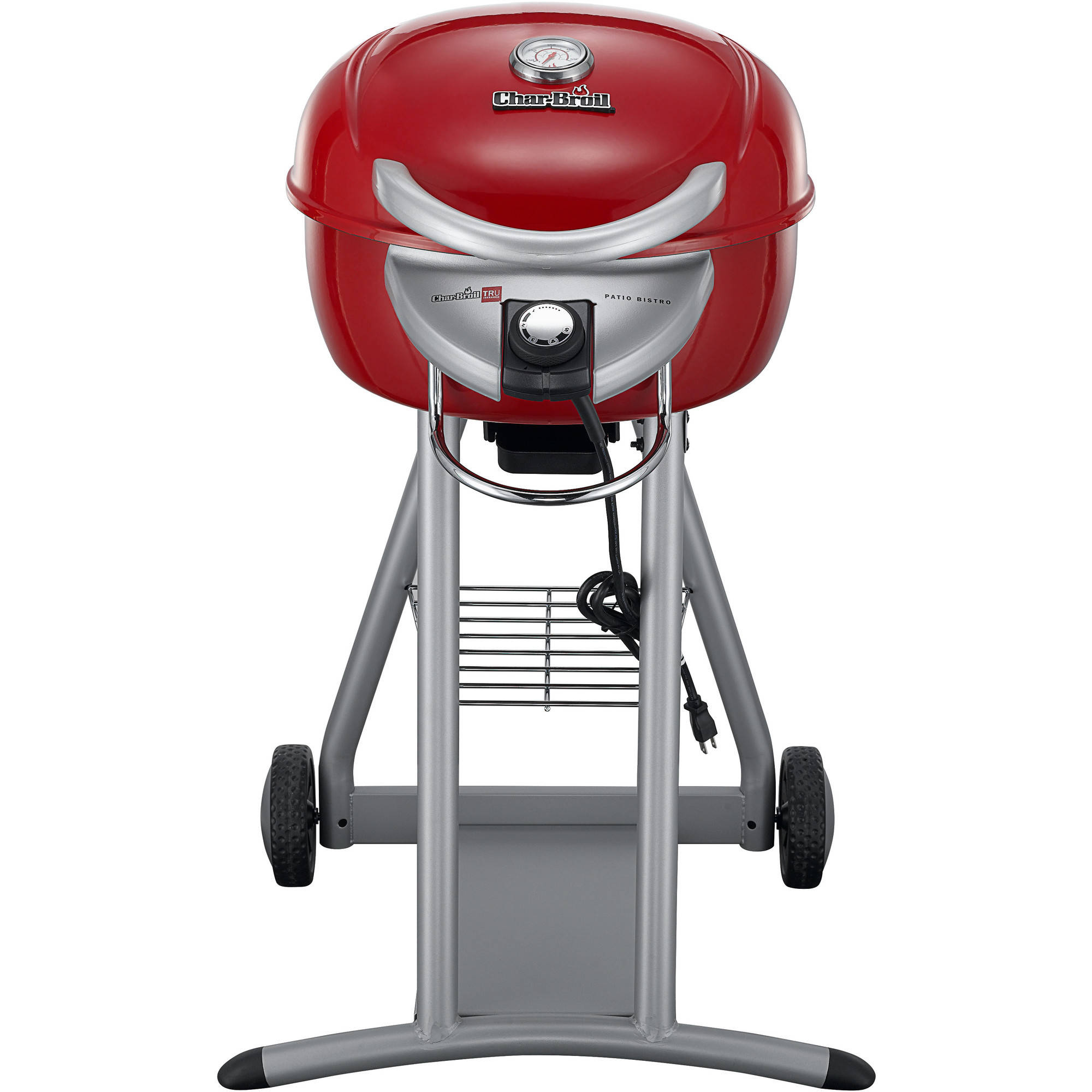 Char-Broil Patio Bistro Infrared 240-Square Inch Electric Grill, Red