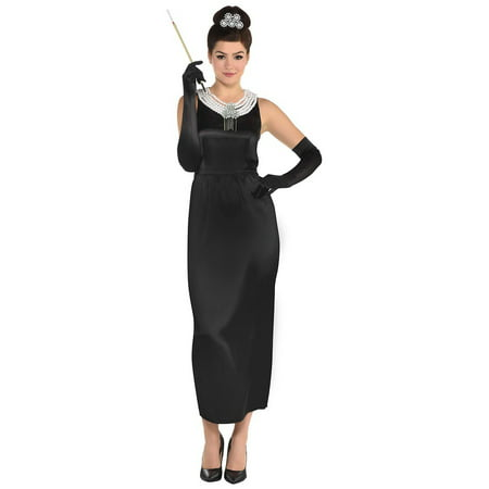 Breakfast At Tiffanys Holly Golightly Adult Costume (Audrey Hepburn Breakfast At Tiffany's Costume)