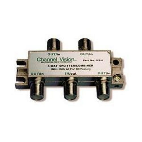Channel Vision HS4 4 Way Splitter Coupler