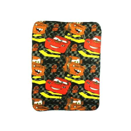 Disney Pixar Cars Checkerboard Mater Fleece Throw 40
