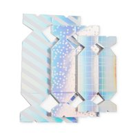 Assorted Iridescent Treat Boxes, 6ct