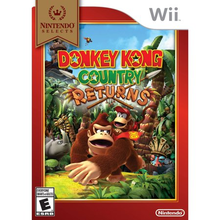 Donkey Kong Country Returns - Nintendo Selects (Wii ...