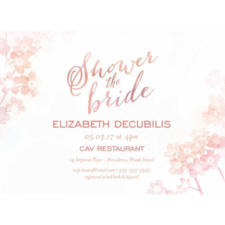 Ombre Standard Bridal Shower Invitation](Bridal Brunch Invitations)